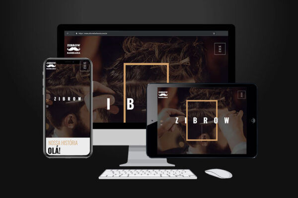 Site – Zibrow Barbearia